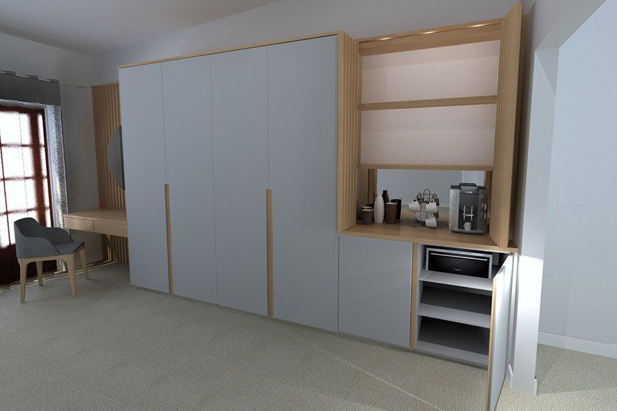 redender closed cabinets