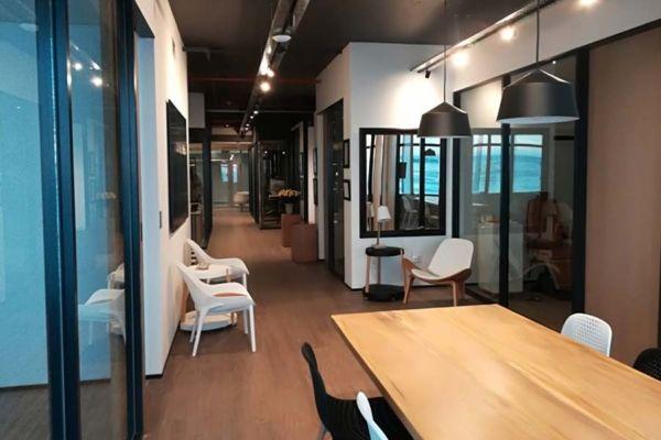 multi office space renovation