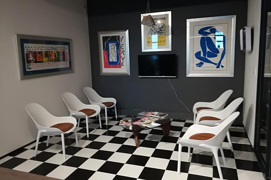 waiting room renovation