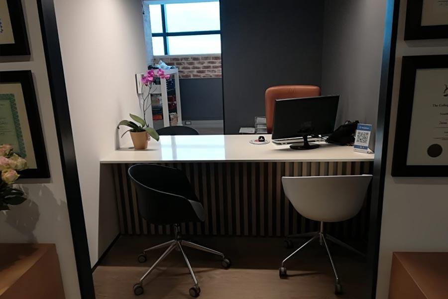 desk carpentry